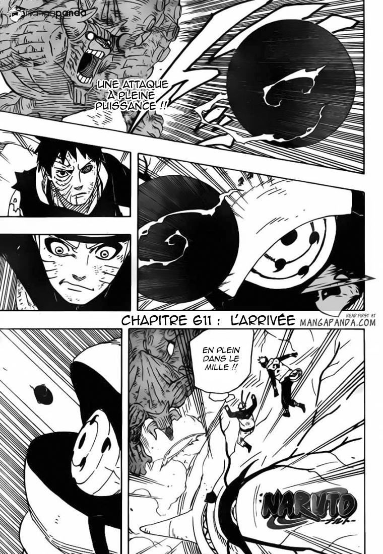 Naruto chapitre 611 - Page 1