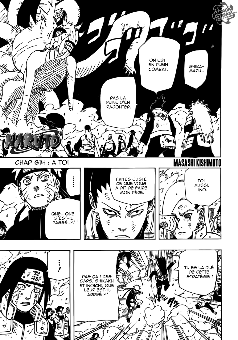 Naruto chapitre 614 - Page 1