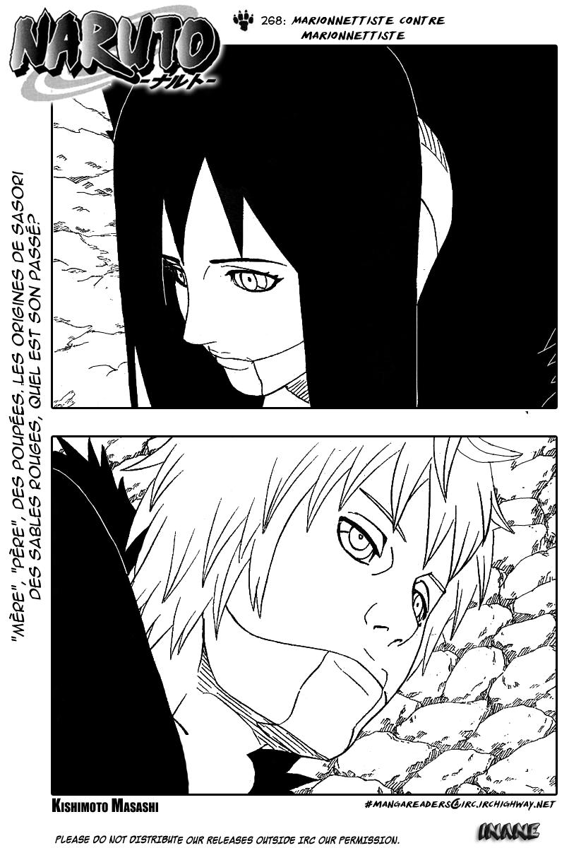 Naruto chapitre 268 - Page 1