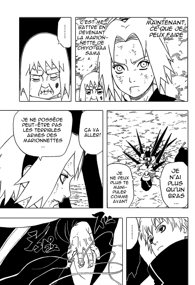 Naruto chapitre 269 - Page 12