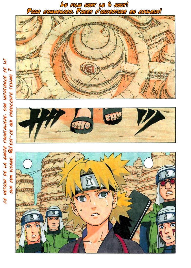 Naruto chapitre 270 - Page 1
