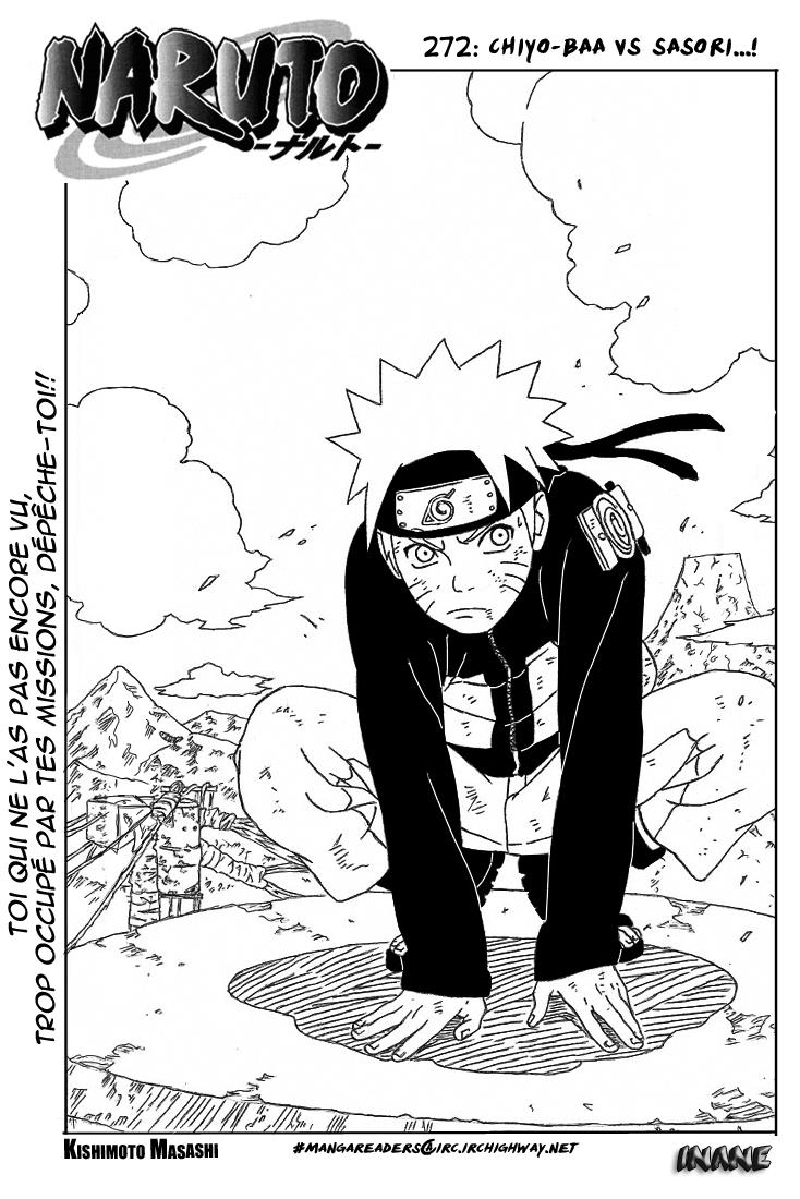 Naruto chapitre 272 - Page 1