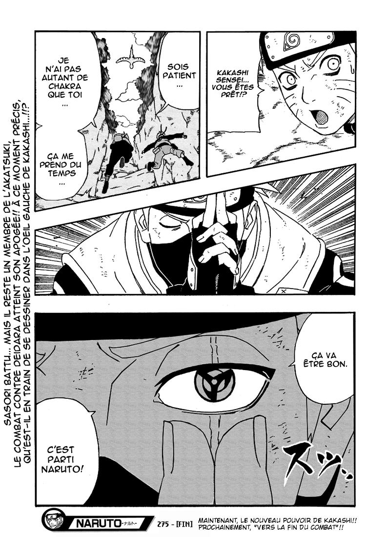 Naruto chapitre 275 - Page 18
