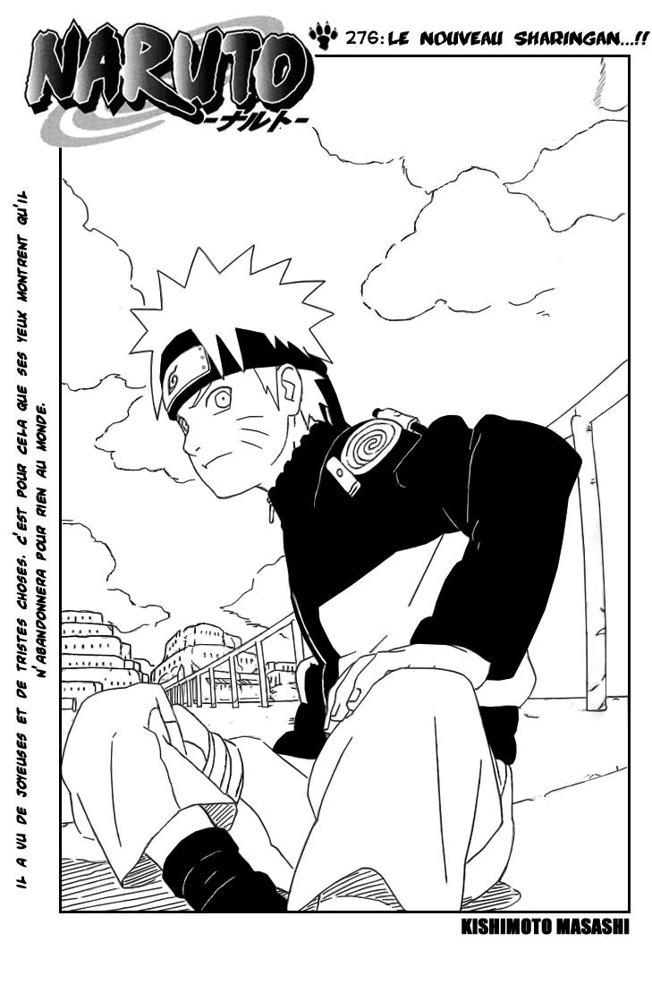Naruto chapitre 276 - Page 1
