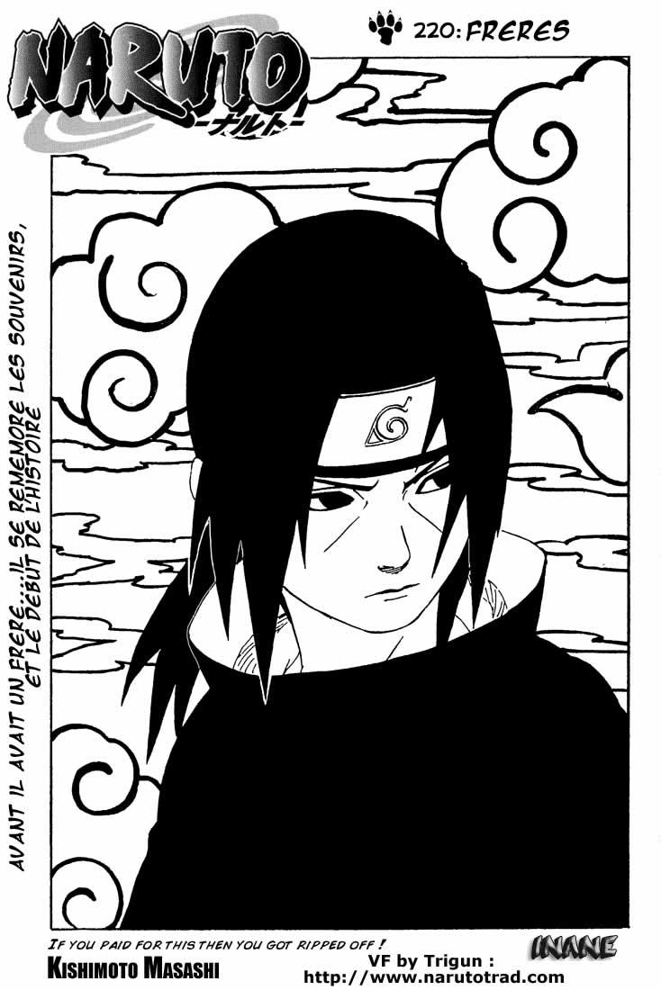 Naruto chapitre 220 - Page 1