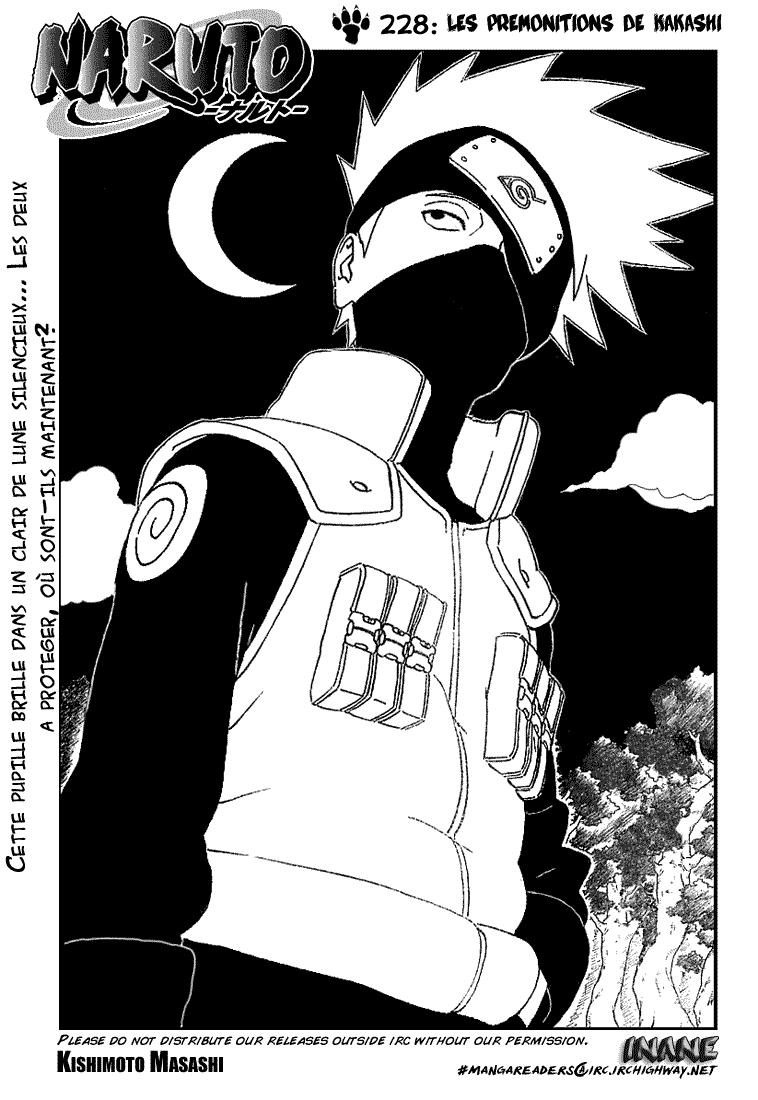 Naruto chapitre 228 - Page 1
