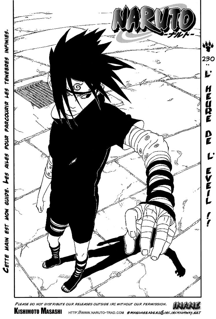 Naruto chapitre 230 - Page 1