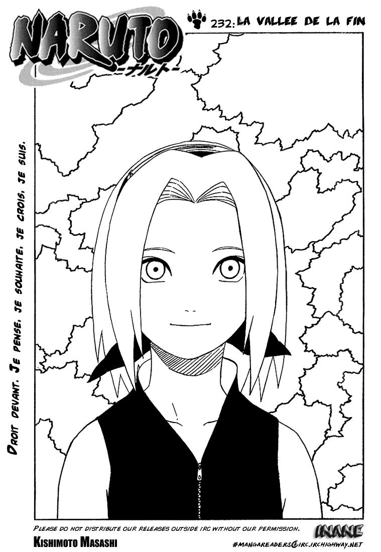 Naruto chapitre 232 - Page 1