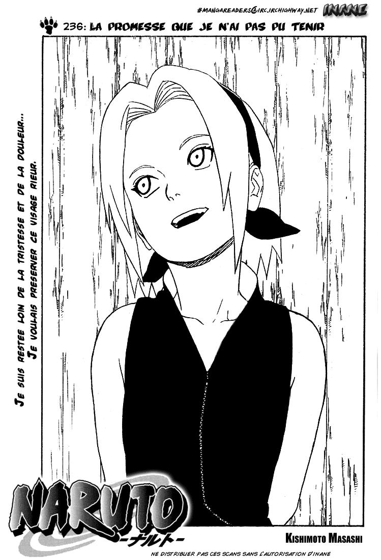 Naruto chapitre 236 - Page 1