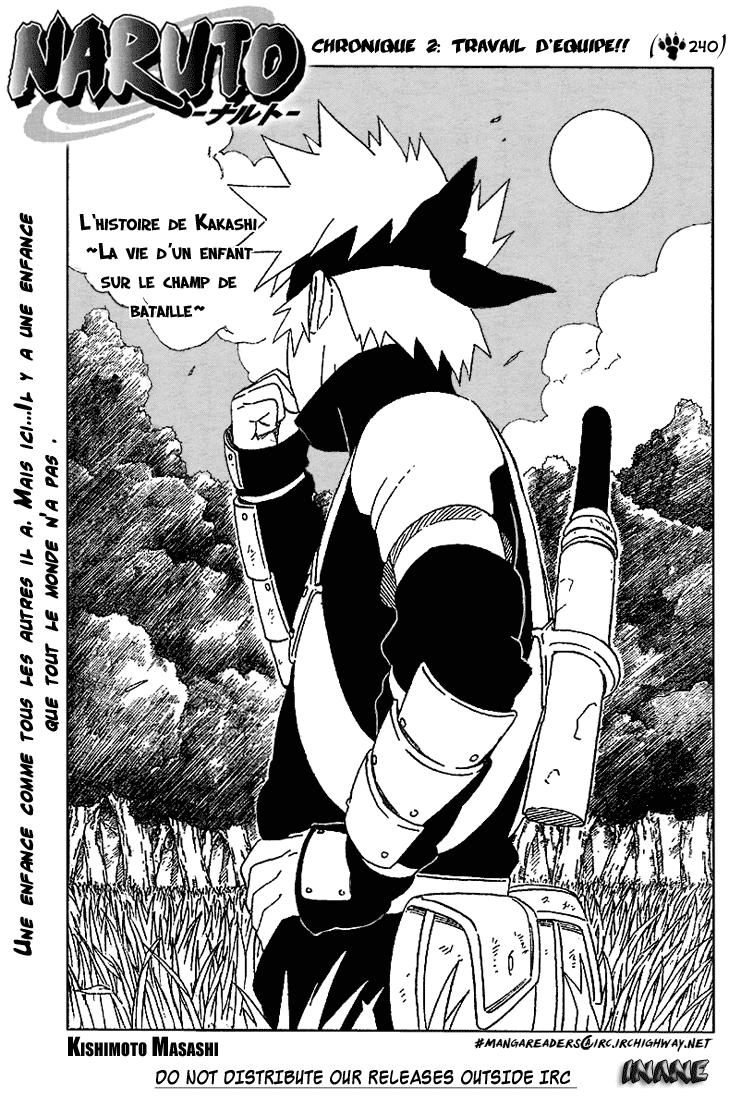 Naruto chapitre 240 - Page 1