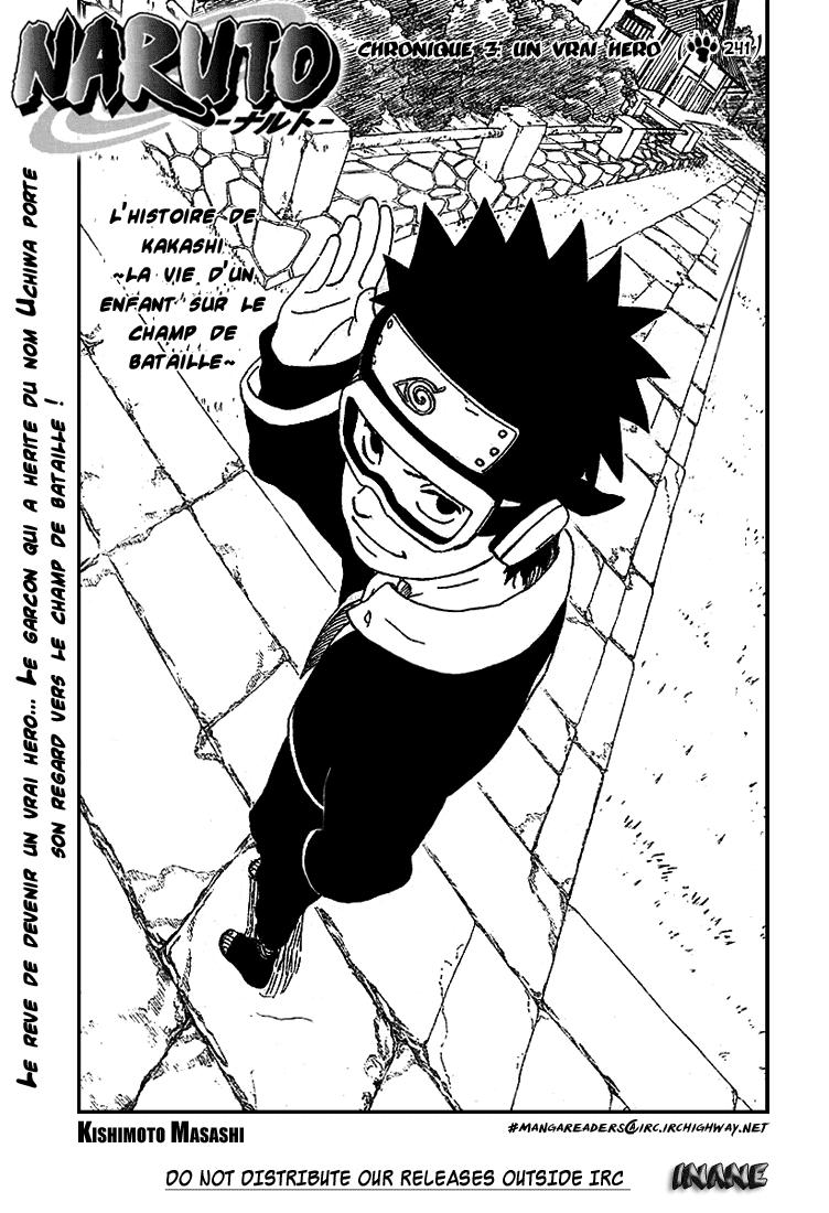 Naruto chapitre 241 - Page 1