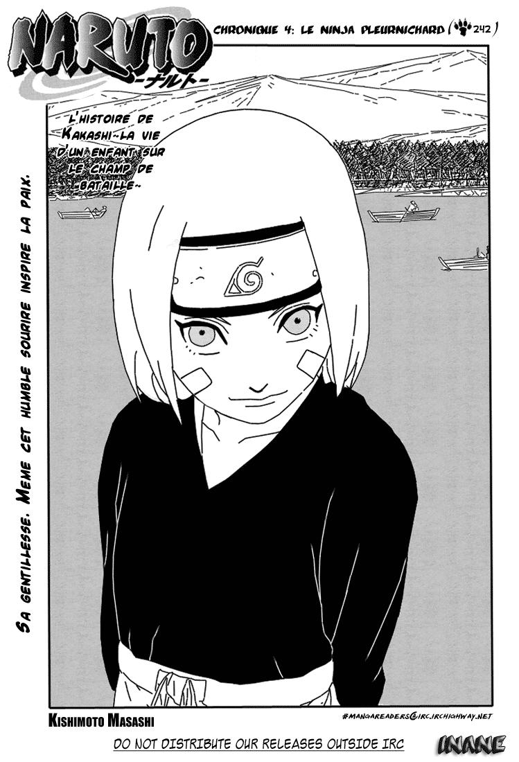 Naruto chapitre 242 - Page 1