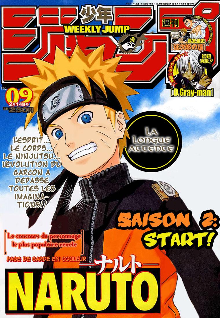 Naruto chapitre 245 - Page 1