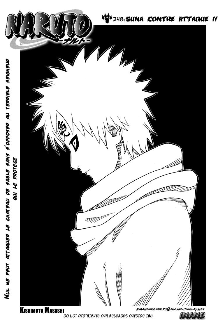 Naruto chapitre 248 - Page 1