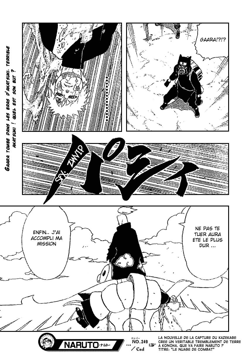 Naruto chapitre 249 - Page 18