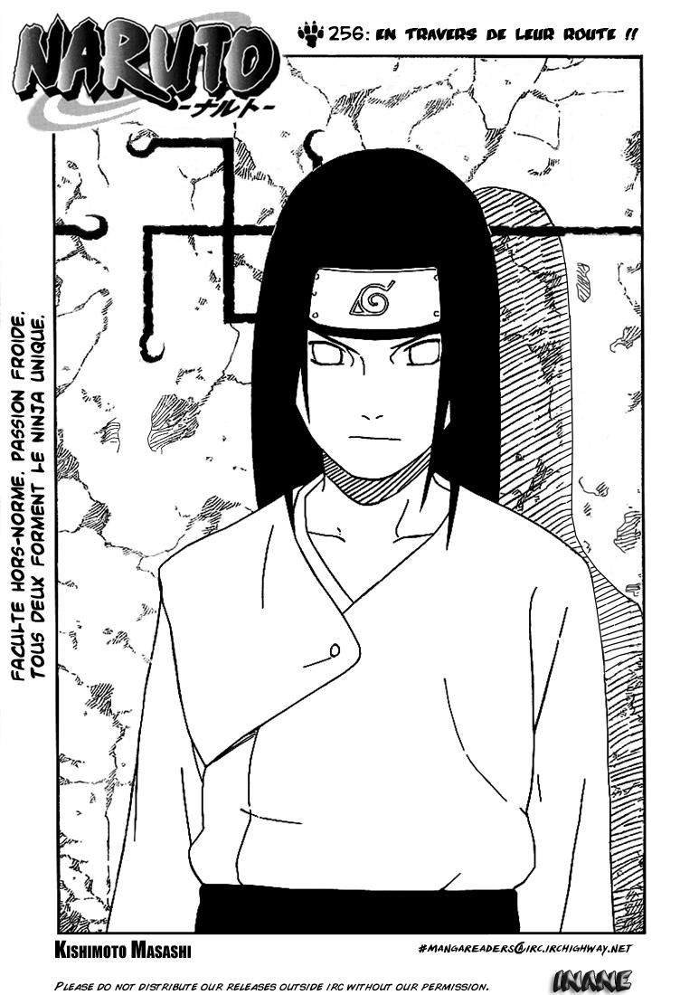 Naruto chapitre 256 - Page 1