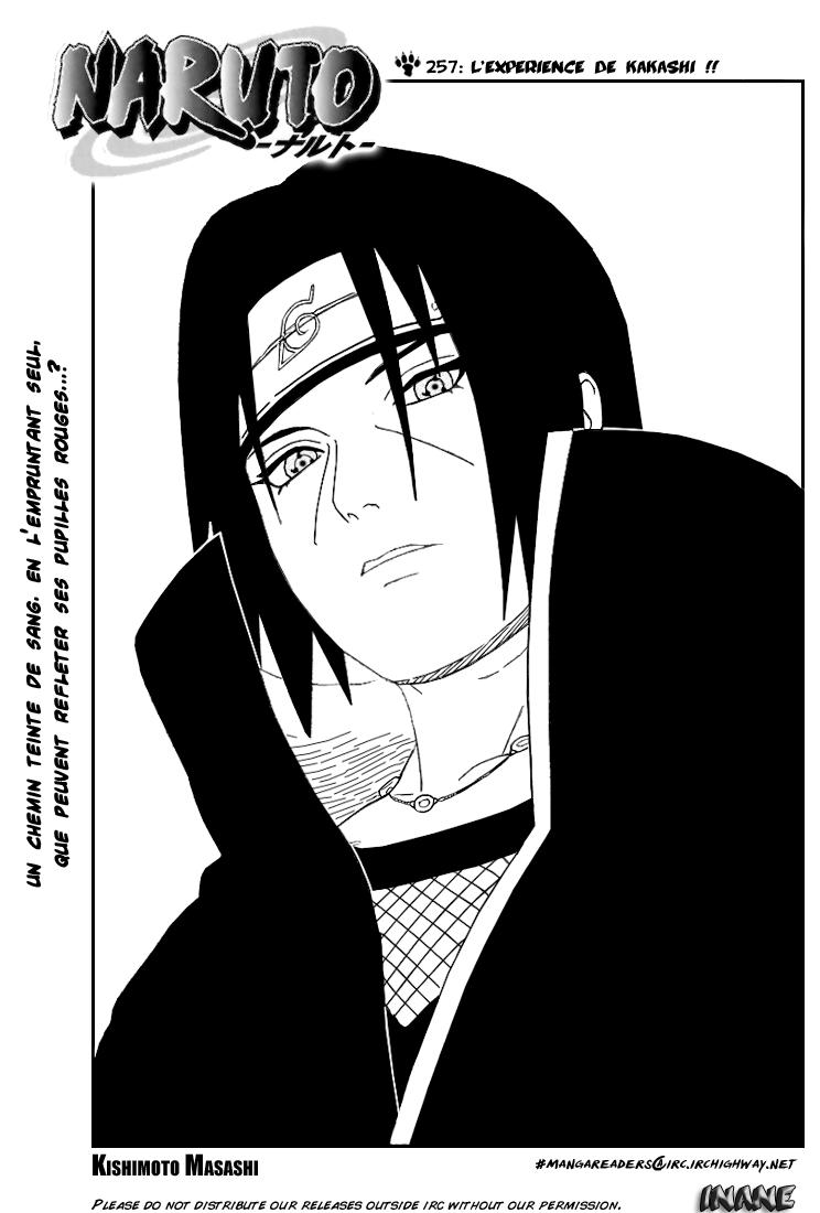 Naruto chapitre 257 - Page 1