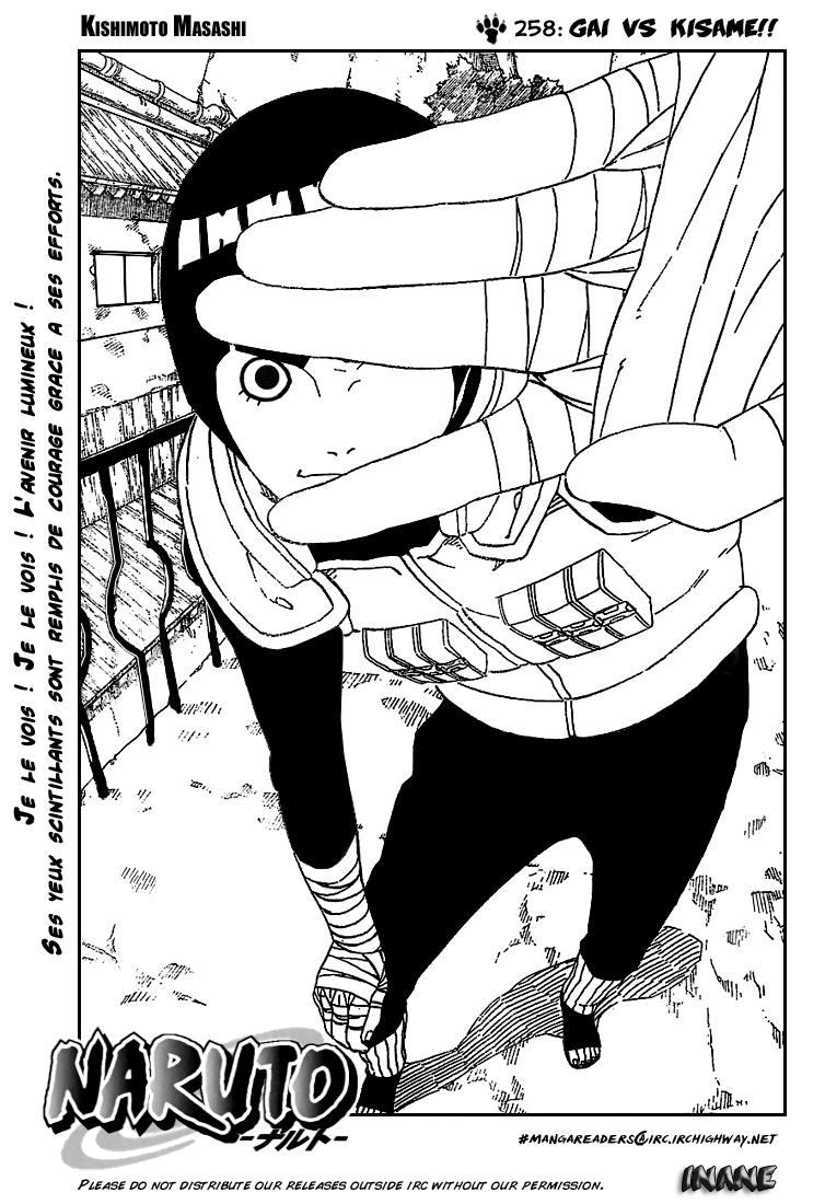 Naruto chapitre 258 - Page 1