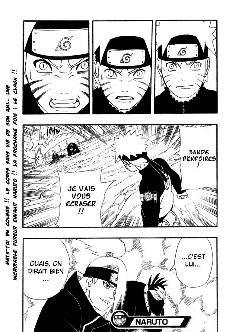 Naruto chapitre 263 - Page 19