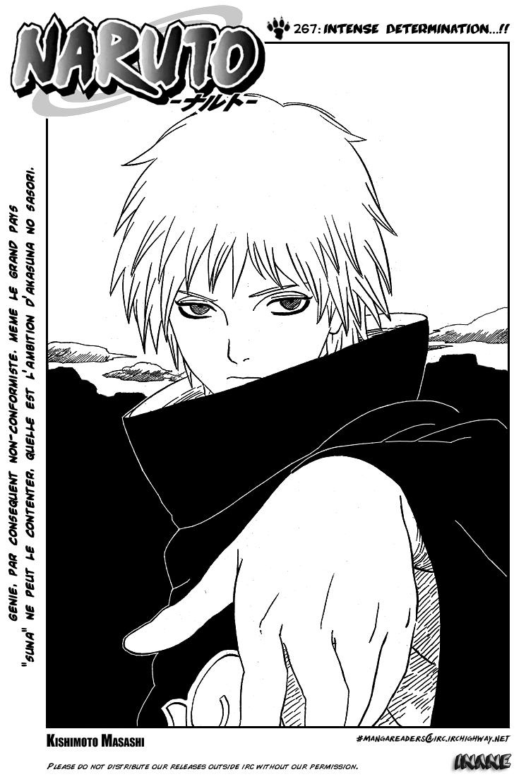 Naruto chapitre 267 - Page 1